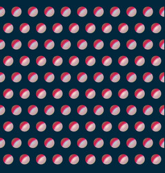 abstract red color pattern vector image