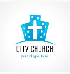 City church logo vector