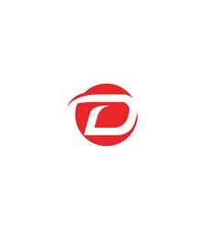 D faster logo business template vector