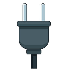 electric plug isolated vector image