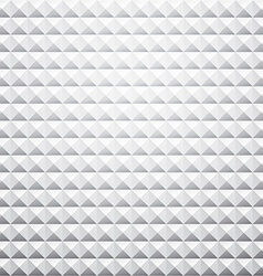 Grey textured pyramid background vector image