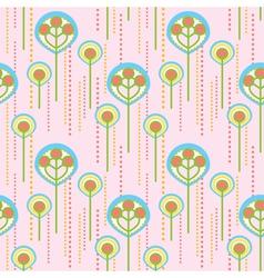 Lollipop trees pattern vector