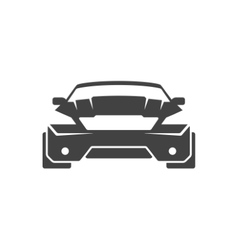 Sport Car Isolated on white background icon vector