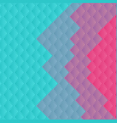 Turquoise and pink abstract minimal squares vector