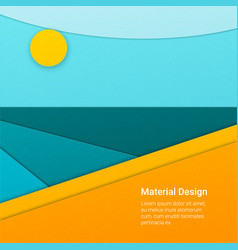 material design background vector image