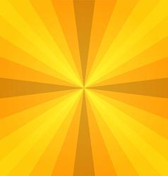 yellow sunray vector image