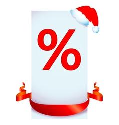 Christmas discount vector