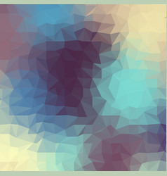Geometric polygonal pattern of a cubes in low poly vector