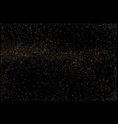 golden fleck backgound vector image