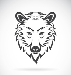 images of bear head vector image