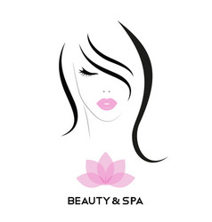logo for spa and beauty salon vector image