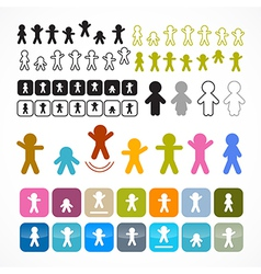 Man - People Icons vector