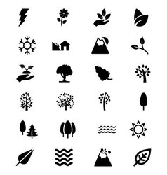 Nature Icons 4 vector
