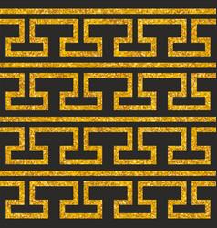 tile decorative floor gold and dark grey tiles vector image