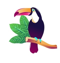Tropical vector image