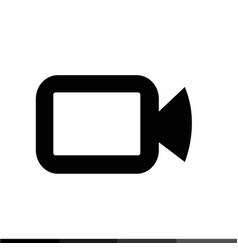 video camera sign icon design vector image