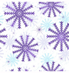 Seamless Christmas grunge pattern vector image