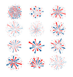 All fireworks vector