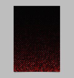 dot pattern poster design - page background vector image
