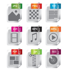 Filetype icon vector