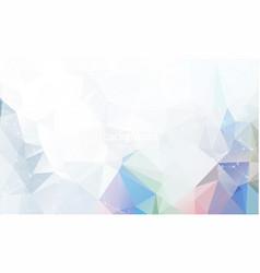 Geometric light polygonal background molecule and vector