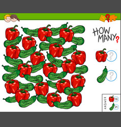 How many educational counting game for kids vector