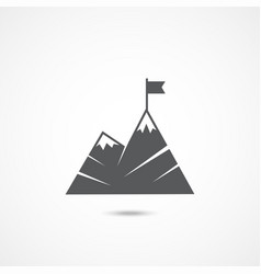 leadership flat icon vector image