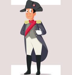 Napoleon bonaparte caricature vector