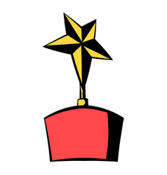 star award icon icon cartoon vector image