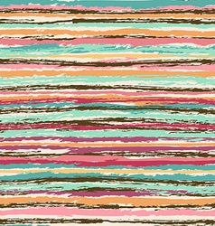 Abstract striped seamless pattern vector image vector image