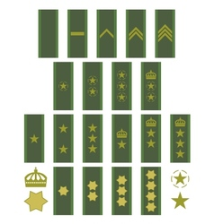 Insignia of the Swedish army vector image vector image