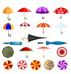 umbrella umbrella-shaped rainy protection vector image