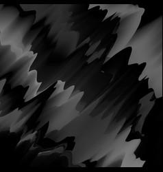black glitch background vector image