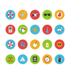 398beach summer flat iconvs vector