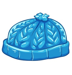 A blue bonnet vector