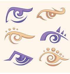 Eye collection vector
