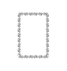 frame of photo fashion graphic background modern vector image