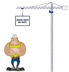 health and safety vector image