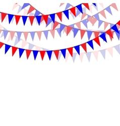 Holiday ribbons vector image