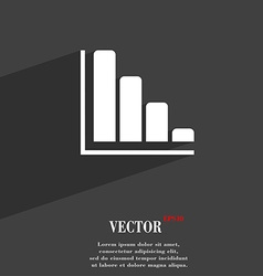 Infographic symbol Flat modern web design with vector image