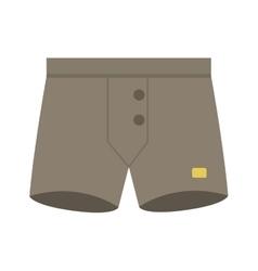 Male panties underwear vector image vector image