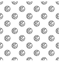 pluton planet pattern seamless vector image