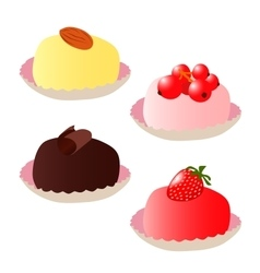 Set of cakes 2 vector