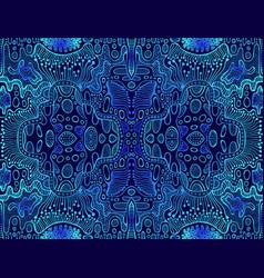 Vintage psychedelic tryppi colorful fractal vector