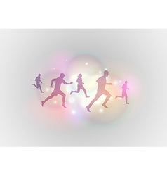 sport abstract vector image