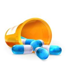 Pills vector image vector image