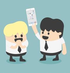 New smartphone vector image