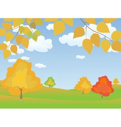 Autumn 4 vector