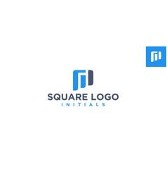 chart accounting logo design inspiration vector image