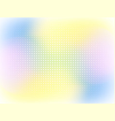 color abstract halfone pattern abstract vector image